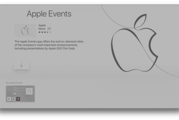 An unwelcome surprise in the new update of the app on Apple Events