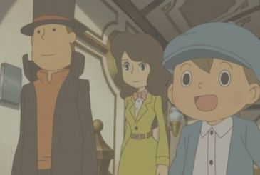 Professor Layton: the second promo of the anime dedicated to Kat