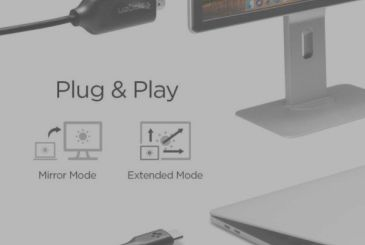 Cable HDMI Type-C Spigen: PC and smartphone mirrored on your monitor in 4K!