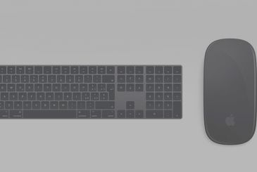 Now available the new mouse and Apple keyboards in gray sidereal (suitable for iMac, Pro)