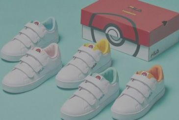 Pokemon – the new shoes Fila theme