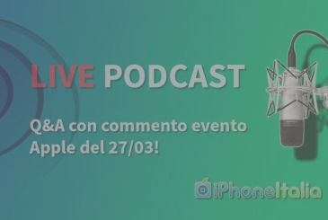 IPhoneItalia Podcast LIVE #190: tomorrow 18 hours!