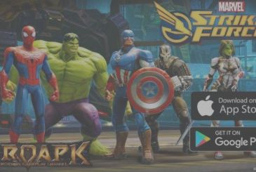 Marvel's Strike Force, superheroes and villains together to defend the Earth!