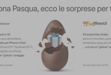 Happy Easter from TrenDevice and BuyDifferent: open the egg, there is a nice surprise for you!