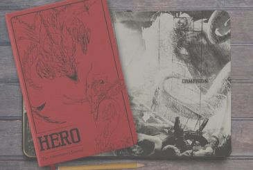 HERO – The Adventurer's Journal: the first journal of role-playing game arrives on Kickstarter!
