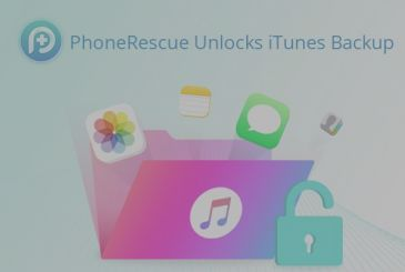 PhoneRescue: how to retrieve the backup encoded without remembering password