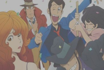 Lupin III part 5: spread the opening sequence of the anime