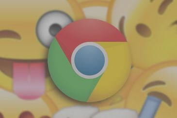 Inbox on Google Chrome panel for quick insertion of emoji