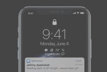 Concept iOS 12: the theme dark, Complication, and so much more!