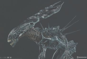 From Sideshow Colletibles, coming in a fantastic (and expensive) scale model of the Alien Queen