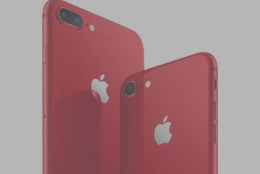 Apple presents the new iPhone 8 and iPhone 8 Plus (PRODUCT)RED Special Edition