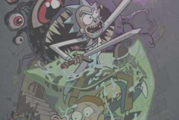 Rick and honor of his wedding: announced a crossover comic with Dungeons and Dragons!