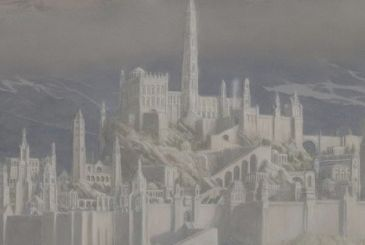 The Fall of Gondolin: arrival in the new posthumous novel the lord of the rings
