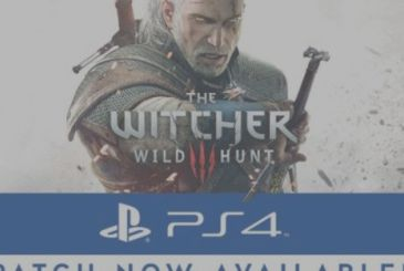 The Witcher 3: available the new patch for the HDR on the PS4