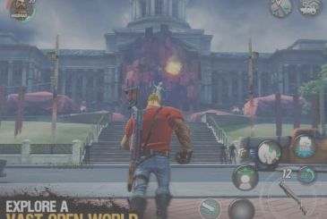 PvP battles in the new DEAD END – Zombie MMO