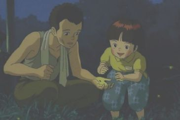The Grave of the Fireflies, the original novel back in the library