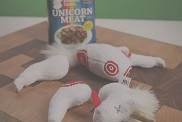 The flesh of a unicorn in the box: taste the mystical rainbows, for the most refined palates!