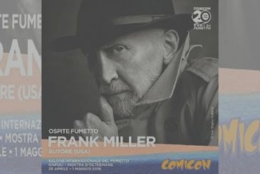 Frank Miller's guest to the Napoli Comicon, 2018