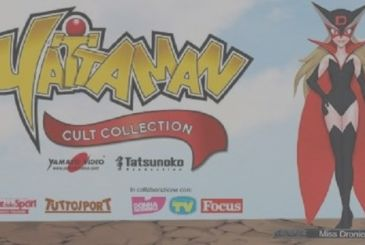 Yatterman Cult Collection on sale with Corriere dello Sport