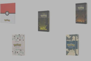 Here are the new notebooks Pokémon titled Moleskine limited edition!