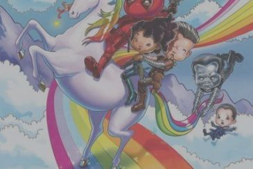 Deadpool 2: ride of the group, a unicorn in the new poster for IMAX