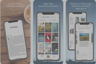 Amazon Kindle 6.6 available on the App Store