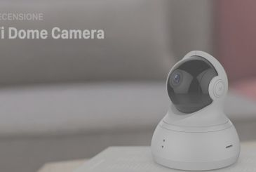 Review Yi Dome Camera: video surveillance camera, which also speaks in Italian, with cloud and a price bomb