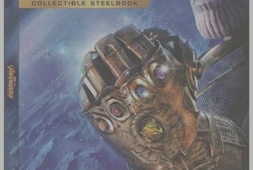 Revealed the steelbook of Avengers: Infinty War, but we'll have to wait to have it!