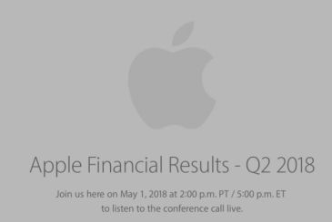 Apple publishes the results tax Q2 2018! Revenues for 61 miliarid and 52 million iphones sold!