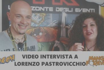 Video interview with Lorenzo Pastrovicchio | Napoli Comicon 2018