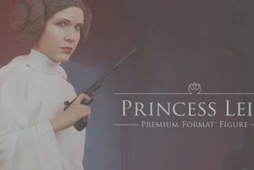 Star Wars, the figures of Leia from Sideshow