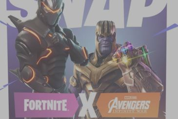 Thanos is ready to conquer the world of Fortnite!
