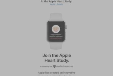 Apple invites new users for the study on heart disease