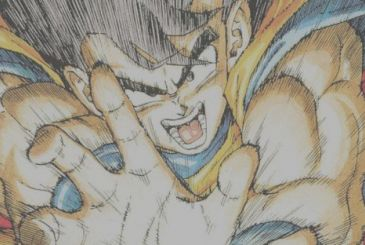 Dragon Ball, by Akira Toriyama a new design for the 25 years of V-Jump