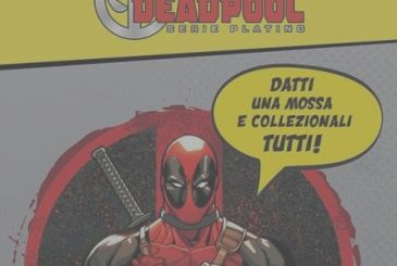 Deadpool Series, Platinum on sale with Corriere dello Sport