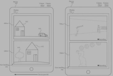 "Apple patented the ""double display"" by using dual-chamber"