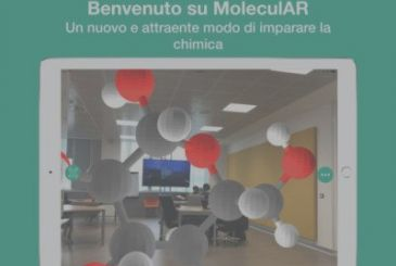 MoleculAR, the revolutionary application for learning chemistry by exploiting the augmented reality on the iPad | QuickApp