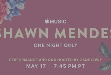 Apple's Music and Shawn Mendes together for a concert in Los Angeles