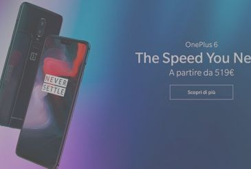 OnePlus 6 is official: one of the most powerful, but at half the price. Already available on Amazon!