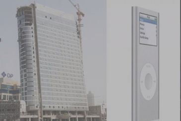In Dubai, the skyscraper that is inspired by the iPod