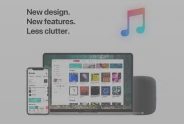Apple Music, the new concept shows a re-design complete
