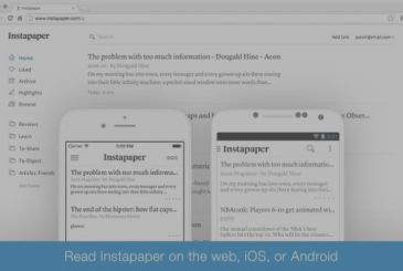 Instapaper enables you to pause the app to gi european users in view of the GDPR