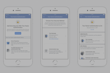 Facebook announces news for the Marketplace and two-factor authentication