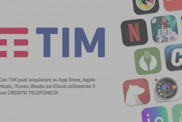 TIM: phone credit used for purchases on the App Store and not only