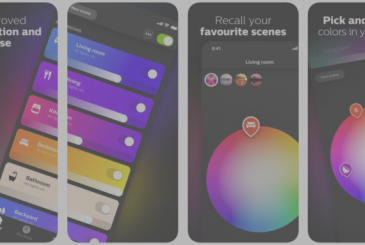 "Philips Hue: app renewed with 30 new scenes, feature ""picture-to-light"" and shortcuts"