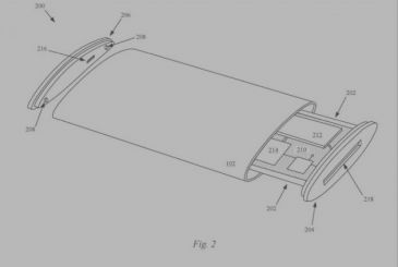 Apple thinks of the iPhone display with wrap-around