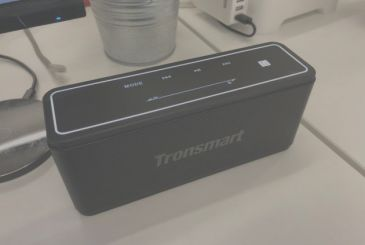 The speaker 40W of Tronsmart has NFC support stereo