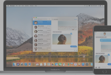 Available the macOS update High Sierra 10.13.5 with the support Messages on iCloud