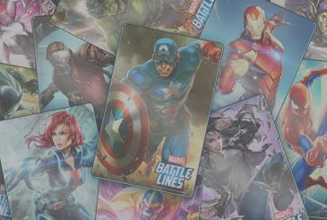 Incoming MARVEL Battle Lines, the new strategy game of collectible cards