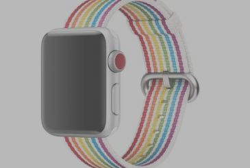 Apple Watch Pride Band: strap color rainbow
